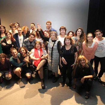 Cristina Livigni, socia de AINCRIT, en la XIII Movida Teatral de ...